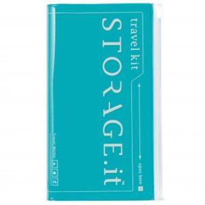 Тревелкейс STORAGE.it New Travel Wallet, Бірюзовий