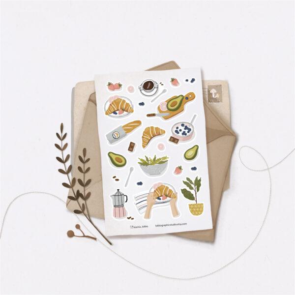 Стікери Vanilka Stickers, Food (папір)