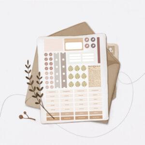 Стікери Vanilka Stickers, Planning set 2 (папір)