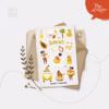 Стікери Vanilka Stickers, Літні тропіки (папір)