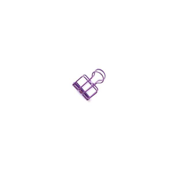Біндер, маленький, фіолетовий
