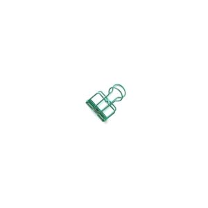 Біндер, маленький, зелений