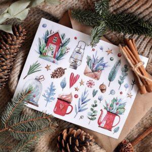 Стікери Vanilka Stickers, Winter (плівка)