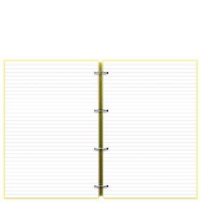 Органайзер Filofax Clipbook A4 Classic Pastels, Lemon