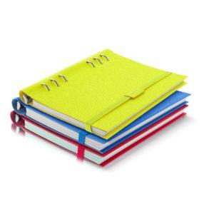 Еластична застібка до Clipbook A5, Saffiano Fluoro Blue