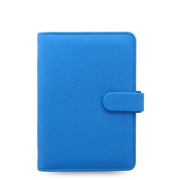 Органайзер Filofax Saffiano Personal, Fluoro Blue