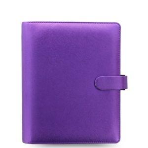 Органайзер Filofax Saffiano A5, Metallic Violet