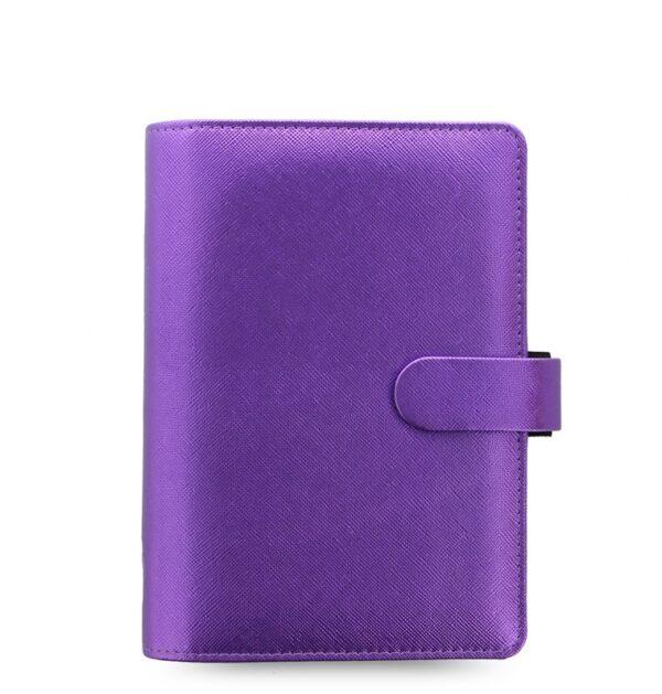 Органайзер Filofax Saffiano Personal, Metallic Violet