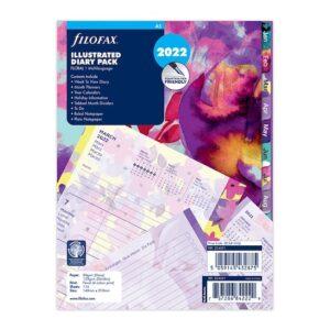 """Бланки """"Квіти"""" Filofax, А5, 2022"""