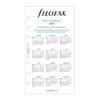 """Бланки """"Квіти"""" Filofax, Personal, 2022"""
