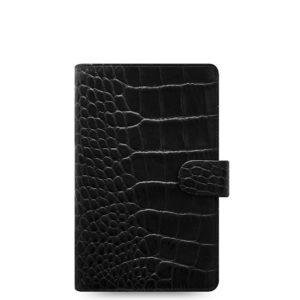 Органайзер Filofax Classic Croc Personal Compact, Ebony