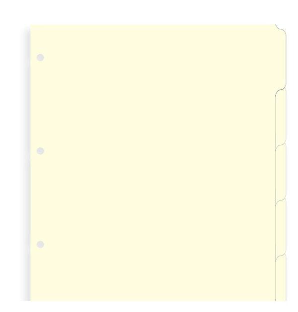 Розділювачі універсальні Filofax, A4, cream