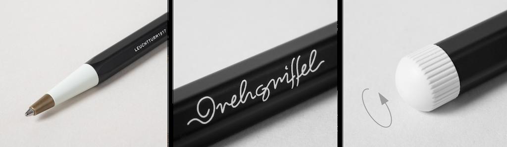 Drehgriffel – унікальний письмовий інструмент від Leuchtturm1917