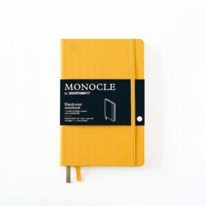 Блокнот MONOCLE, Leuchtturm1917, В6+, Yellow, крапка