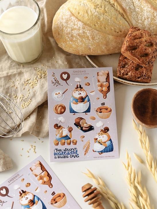 Стікери Vanilka Stickers, Shosho (папір)