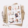 Стікери Vanilka Stickers, Reading age (папір)