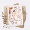 Стікери Vanilka Stickers, Tulips (папір)