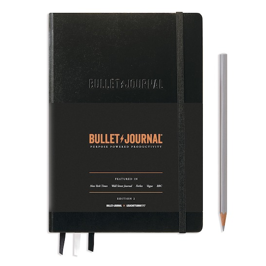 Блокнот Leuchtturm1917 Bullet Journal Edition 2, чорний