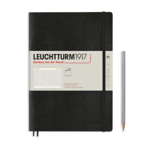 Блокнот Leuchtturm1917 Composition (B5), чорний, клітинка