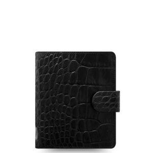 Органайзер Filofax Classic Croc Pocket, Ebony