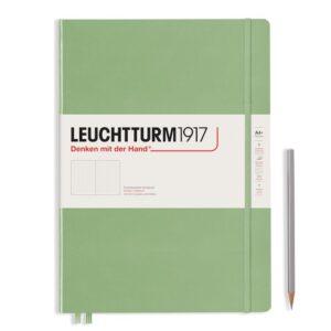 (Копія)Блокнот Leuchtturm1917 Master Slim A4+, винний, лінія