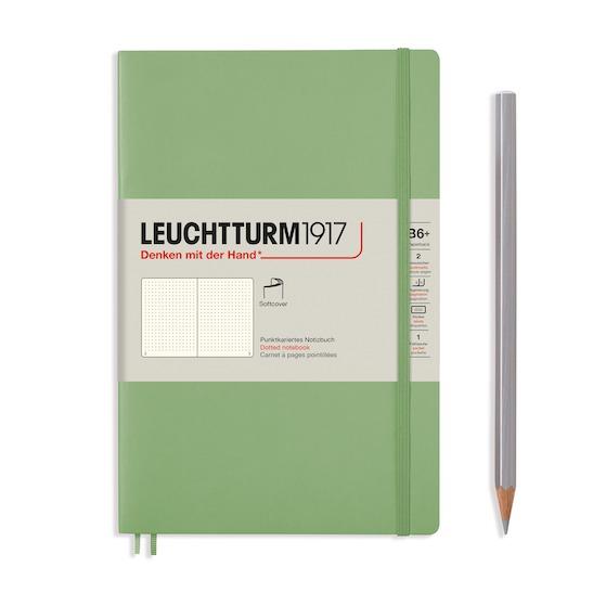 Блокнот Leuchtturm1917 Paperback (B6), М'яка обкладинка, Muted Colours, Чисті аркуші