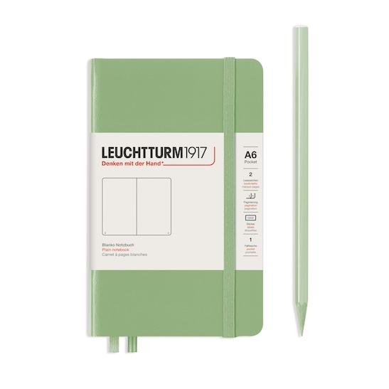Блокнот Leuchtturm1917 кишеньковий, тихоокеанський зелений, лінія