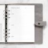 Бланки Планування проєктів і цілей Filofax, A5, white