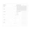 Бланки Планування оздоровлення Filofax, A5, white