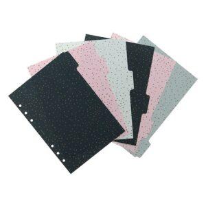Розділювачі універсальні Filofax, А5, Confetti