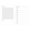 Бланки Планування оздоровлення для блокнота Filofax A5