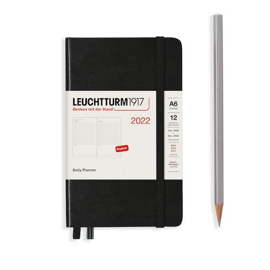 (Копія)Щоденник Leuchtturm1917, Master (А4+), Чорний, 2021