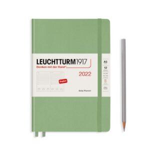 Щоденник Leuchtturm1917, Master (А4+), Чорний, 2022