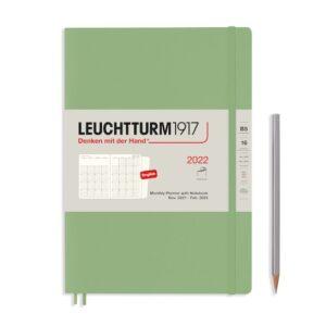 Щомісячник з нотатками Leuchtturm1917, Composition (B5), Powder, 2022