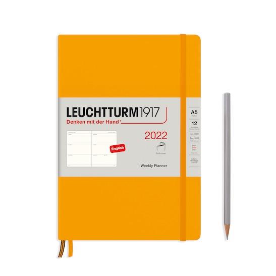 Щотижневик в колонках Leuchtturm1917, Середній (A5), Powder, 202