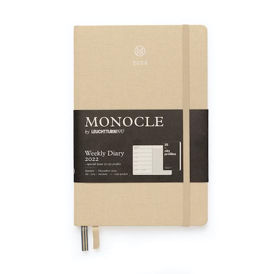 Щотижневик з нотатками Leuchtturm1917 Monocle, Paperback (B6+), Olive, 2022