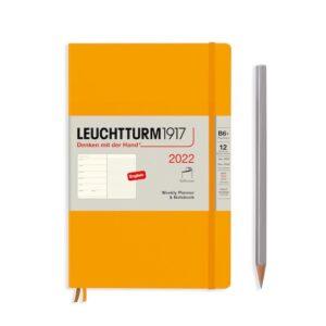 Щотижневик з нотатками Leuchtturm1917, Кишеньковий (А6), Powder, 2022