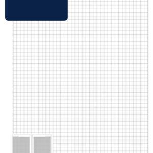 Бланки в лінію Filofax, A4, білі
